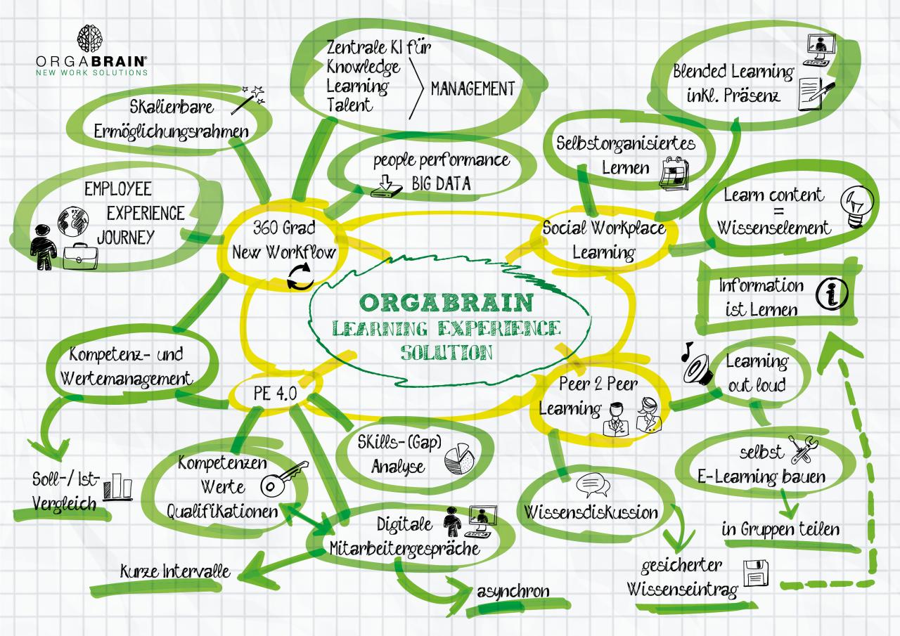 Orgabrain Visual Sketchnote